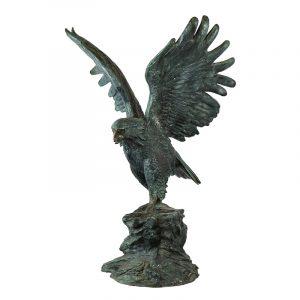 Aquila in bronzo